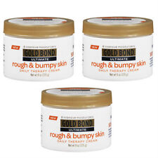 3 Pack Gold Bond Ultimate Rough & Bumpy Skin Daily Therapy Cream - 8 oz Each