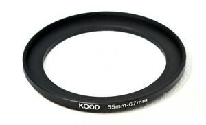 Stepping Ring 55-67mm 55mm to 67mm Step Up Ring Stepping Rings 55mm-67mm