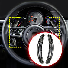 For Porsche Macan 991 Spyder 918 718 Carbon Fiber Shift Paddle Shifter Extension