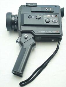 Vintage MINOLTA XL-Sound 42 Super-8 Movie Camera Bundle w/ Microphone In Box
