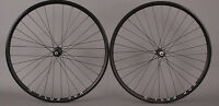 H Plus Son Archetype Black Rims Shimano 7000 Road Bike Wheelset 8 9 10 11 Speed