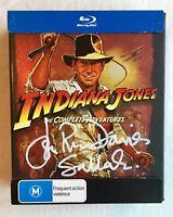 Indiana Jones Complete Adventures Blu-ray Autographed by John Rhys-Davies