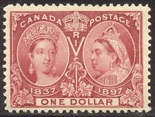 CANADA #61 CHOICE Mint - 1897 $1 Jubilee
