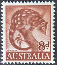 Cats Australian Pre-Decimal Stamp Blocks, Sets & Sheets