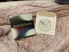 APPLE FINAL CUT PRO 7 STUDIO HD - COMPLETE! Bonus: Comes With iLife!