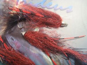 Irideus Anadromous Soft Hackle Wooly Bugger Streamer flies Trout Fly Fishing