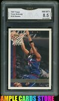 1997 TOPPS #125 TRACY MCGRADY ROOKIE RC GRADED GMA 8.5 NM-MT+ ~ PSA 8.5?