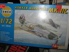 Smer Wwii British Hawker Hurricane Mk-11C Fighter Plane-1/72 Scale-Free Shipping