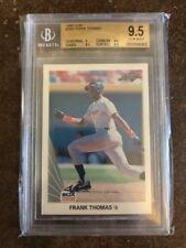 1990 Leaf Frank Thomas Chicago White Sox #300 Baseball Card