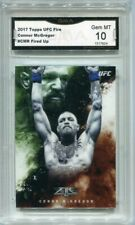 2016 Conor McGregor Topps UFC Top of the Class rookie gem mint 10 #TOC1