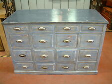 MEUBLE A TIROIRS USINE VIEILLE PATINE / INDUSTRIAL CHEST OF DRAWERS