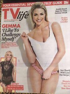 UK TV Life Magazine August 2017 Gemma Atkinson Britney Spears Sair Khan