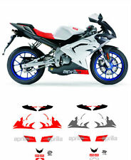 RS 50 125 decals stickers graphics restoration 2008 replacement set Aprilia