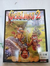 Gobliins 2 Big Box PC Good Condition RARE and RETRO