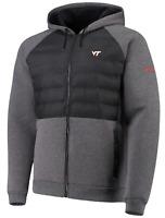 NWT Virginia Tech VT Hokies Men's Columbia Northern Comfort Gray Jacket Small