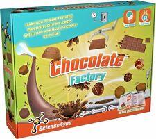 Chocolate factory 33 experimentos edad 8+ Ciencias 4YOU Free UK POST!! totalmente Nuevo!