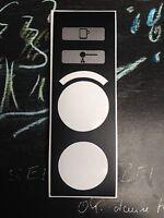 Jura Impressa S9 Avantgarde - OneTouch - XS90 Tastenschutzfolie für Logikprint