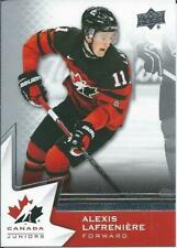 2020-21 Upper Deck UD Team Canada Juniors Hockey ''You Choose / Pick from list''