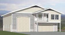 44x48 Apartment with 2-Car 1-RV Garage - PDF FloorPlan - 1,648 sqft - Model 1A