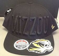 5ca8df1160e1b NWT Missouri Tigers Mizzou Zephyr Men s Hat Cap Adjustable NEW NCAA