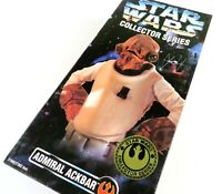"Kenner Star Wars ADMIRAL ACKBAR Collector Series Figure 1997 12"" Inch, NIB"