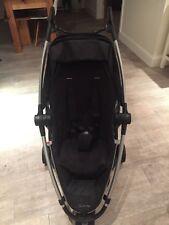 Quinny Zapp Xtra Rocking Black Standard Single Seat Stroller