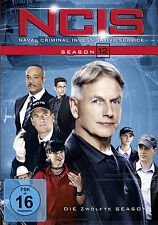 6 DVDs * NCIS - STAFFEL / SEASON 12  ~ Navy CIS - Deutsche Ware # NEU OVP +