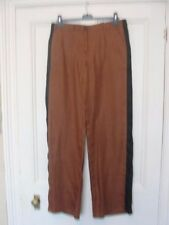 Linen Other Casual Trousers Size Tall NEXT for Women