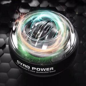 LED Wrist Ball Super Gyroscope Powerball Self-starting Gyro Arm Force Trainer