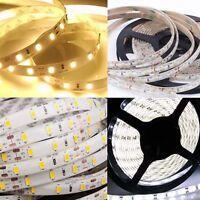 5-15M Ruban Bande LED Strip Flexible RGB SMD 3528 5050 5630 Etanche Fête Noël