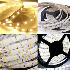 5-15M Ruban Bande LED Strip Flexible RGB SMD 3528 5050 5630 Etanche Fête Noël