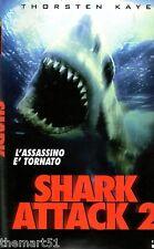Shark attack 2 (1999)  VHS CVC Video   David Worth  Thorsten Kaye, Nikita Ager