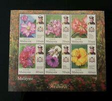 Malaysia 2016 Definitive Series - Johor ~ M/S Mint
