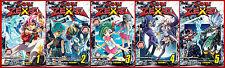 Yu-Gi-Oh! Zexal Series MANGA by Yoshida & Takahashi Collection Set Volumes 1-5!