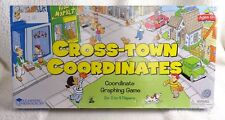 Learning Resources Cross-town Coordinates Graphing Educational Game
