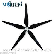 5 Raptor Generation 5™ 33 Inch Blades & Hub for Wind Turbine Generators