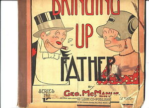 Bringing Up Father, Series #16, 1929; stiff cardboard cover