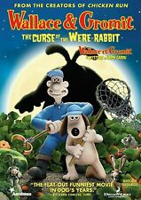 New Wallace And Gromit Curse of the Were Rabbit Dvd Cartoon Movie Animated Ware