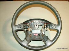 OEM 92-95 Honda Civic LX - Steering Wheel NH178L 78510-SR4-A03ZC Charcoal F-Gray