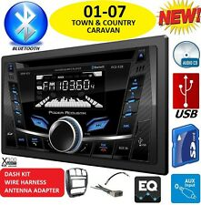 01-07 CARAVAN TOWN & COUNTRY BLUETOOTH CD USB BT AUX Car Radio Stereo SYSTEM