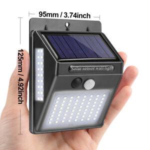 100 LED Solar Light Outdoor Solar Lamp Powered Sunlight Waterproof PIR Sensor