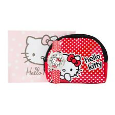 Hello Kitty Orologio Cinturino a pois rosa & Portamonete Regalo Set Età 6+