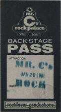 Allman Brothers Band 1981 Tour Backstage Pass