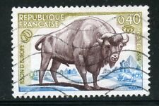 STAMP / TIMBRE FRANCE OBLITERE N° 1795 / FAUNE / BISON D'EUROPE