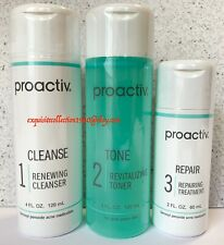 Proactiv 2 Month Supply 3-Step Acne Treatment Kit 60 Day Proactive 2021 Expiry