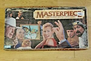 Masterpiece The Art Auction Game Vintage 1970's Made In Original Box Complete