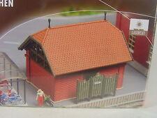 Toilettenhaus f. Bahnhof - Faller HO Bausatz 1:87 - 120238 #E