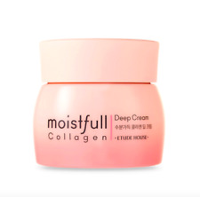 ETUDE HOUSE Renewal Moistfull Collagen Deep Cream 75ml + 1 sample US Seller