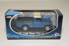 A2 1:43 SOLIDO LAND ROVER PICK UP METALLIC BLUE MINT BOXED