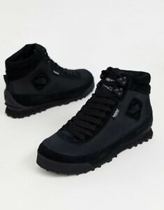 The North Face Womens Back To Berkeley Boots II Black Leather Uk Size 3 Eur 36